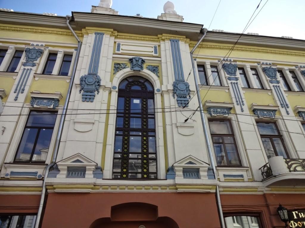 доходный дом переплетчикова нижний новгород