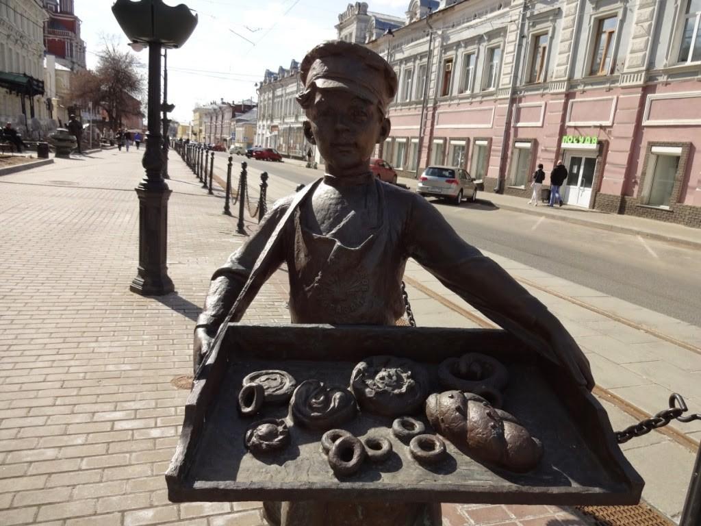 скульптура мальчика рождественская нижний новгород