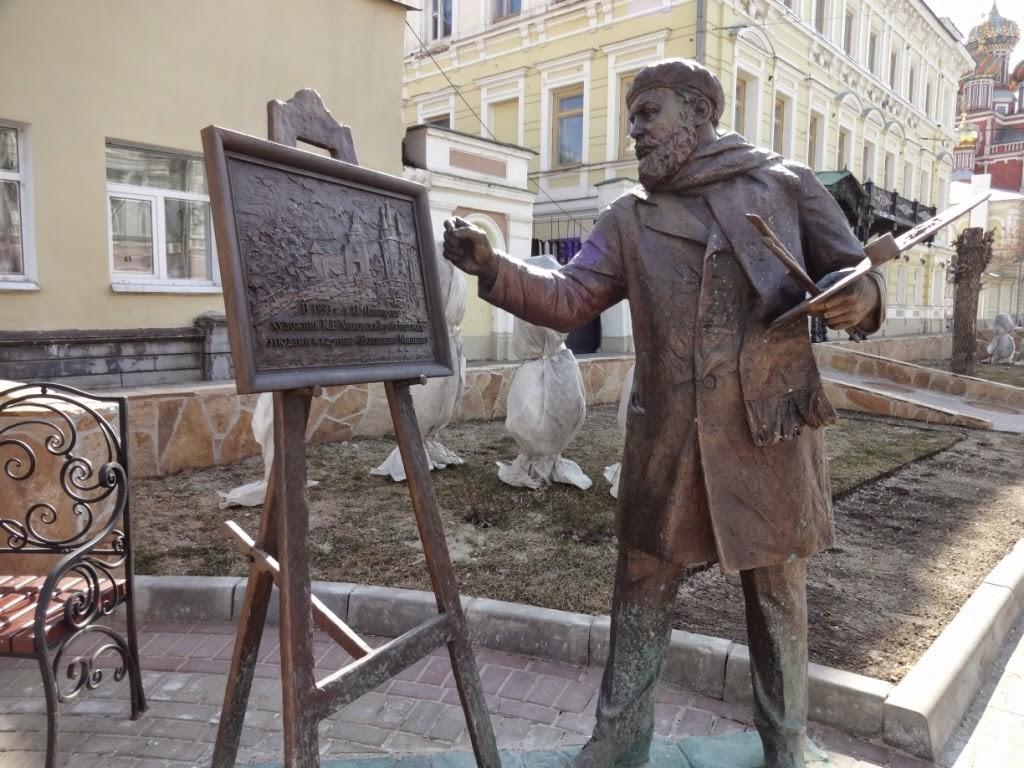 скульптура художника рождественская нижний новгород