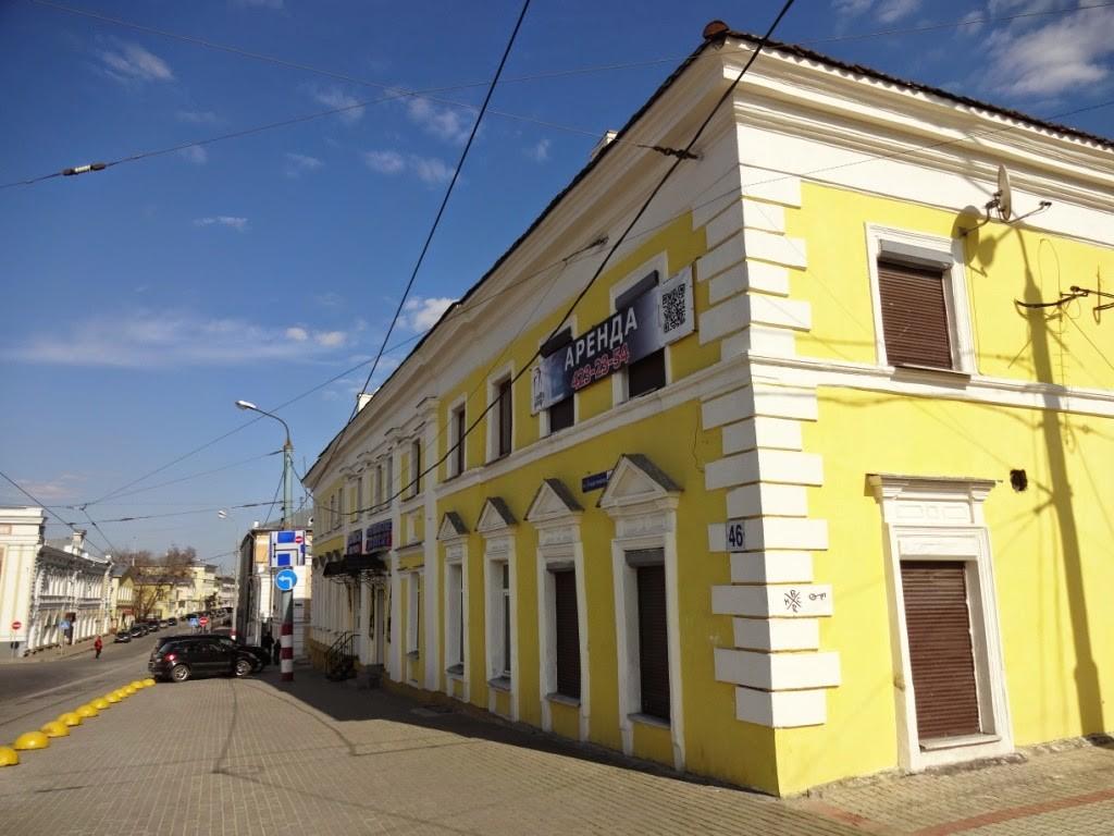 дом Абамелек-Лазарева рождественская нижний новгород