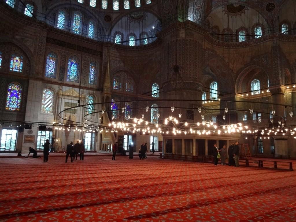 стамбул голубая мечеть