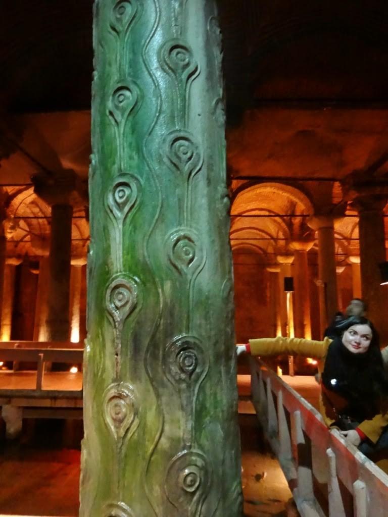 стамбул цистерна базилика колонна желаний