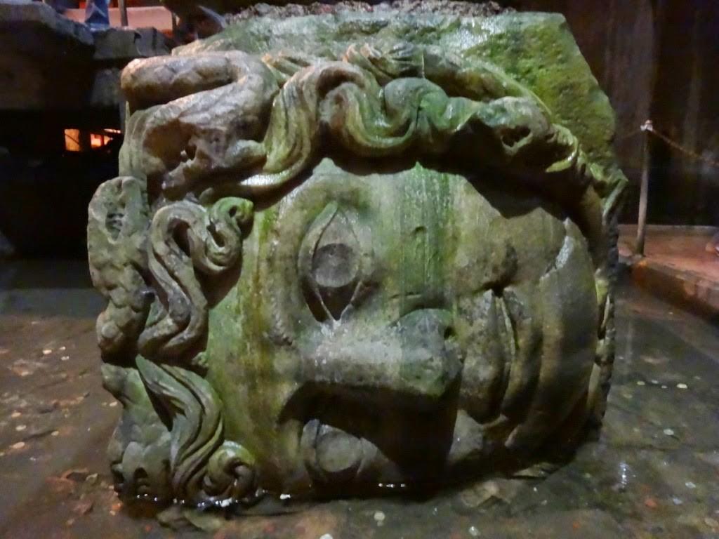 стамбул цистерна базилика колонна медуза