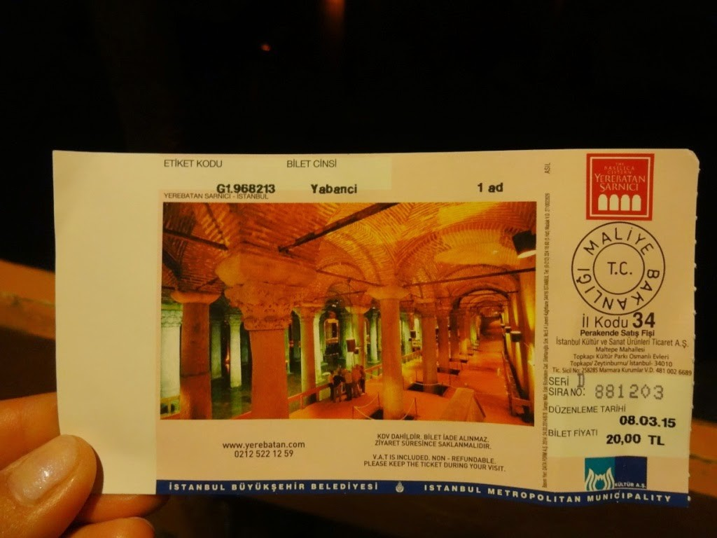 стамбул цистерна базилика билет