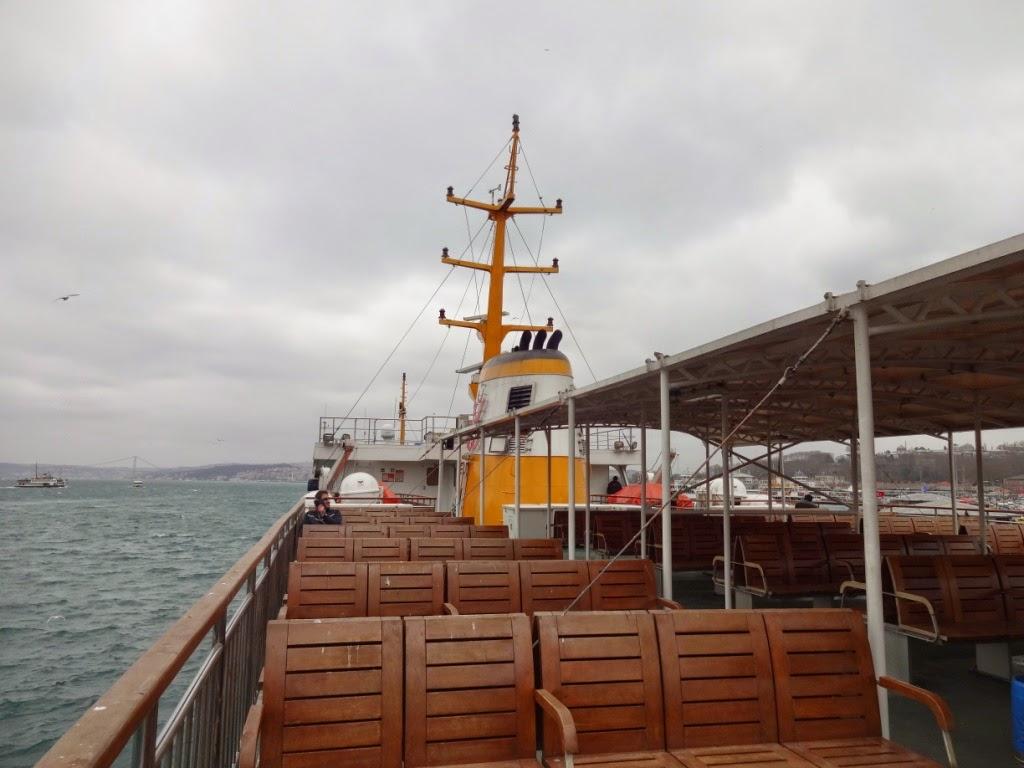 морская прогулка по босфору
