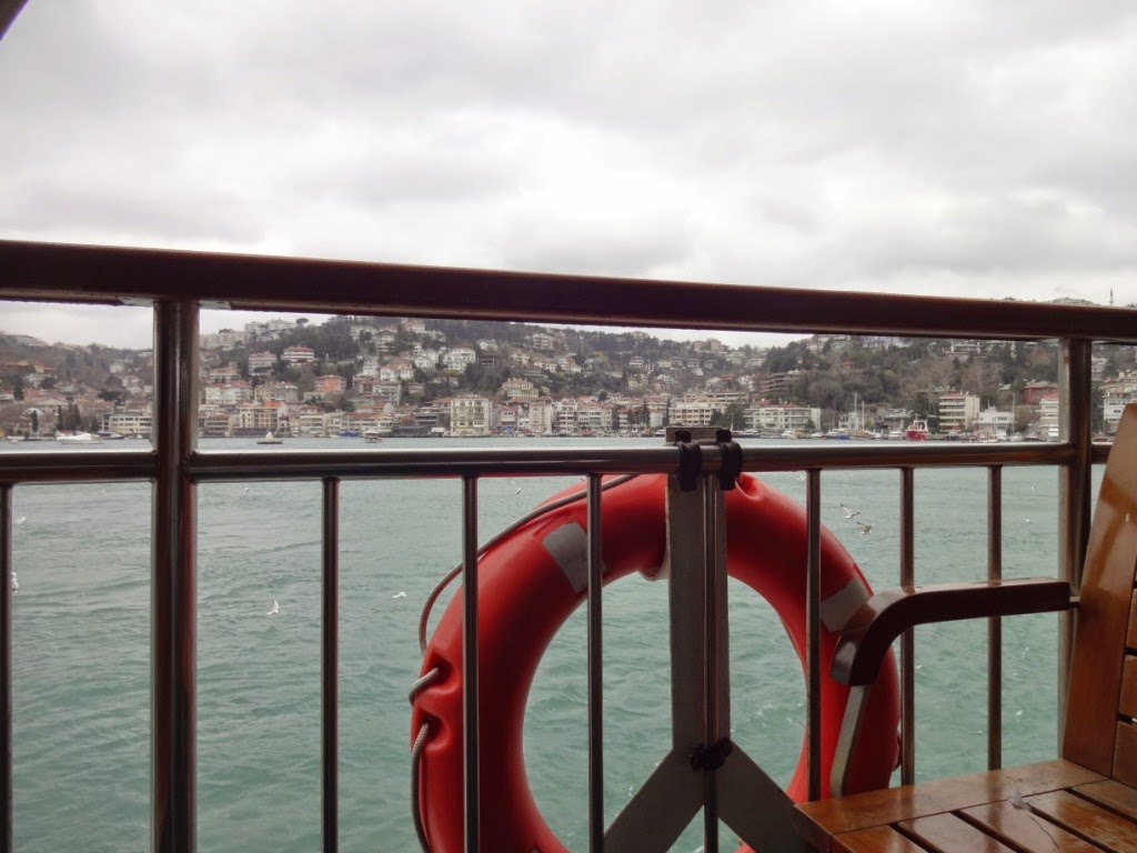 морская прогулка босфор