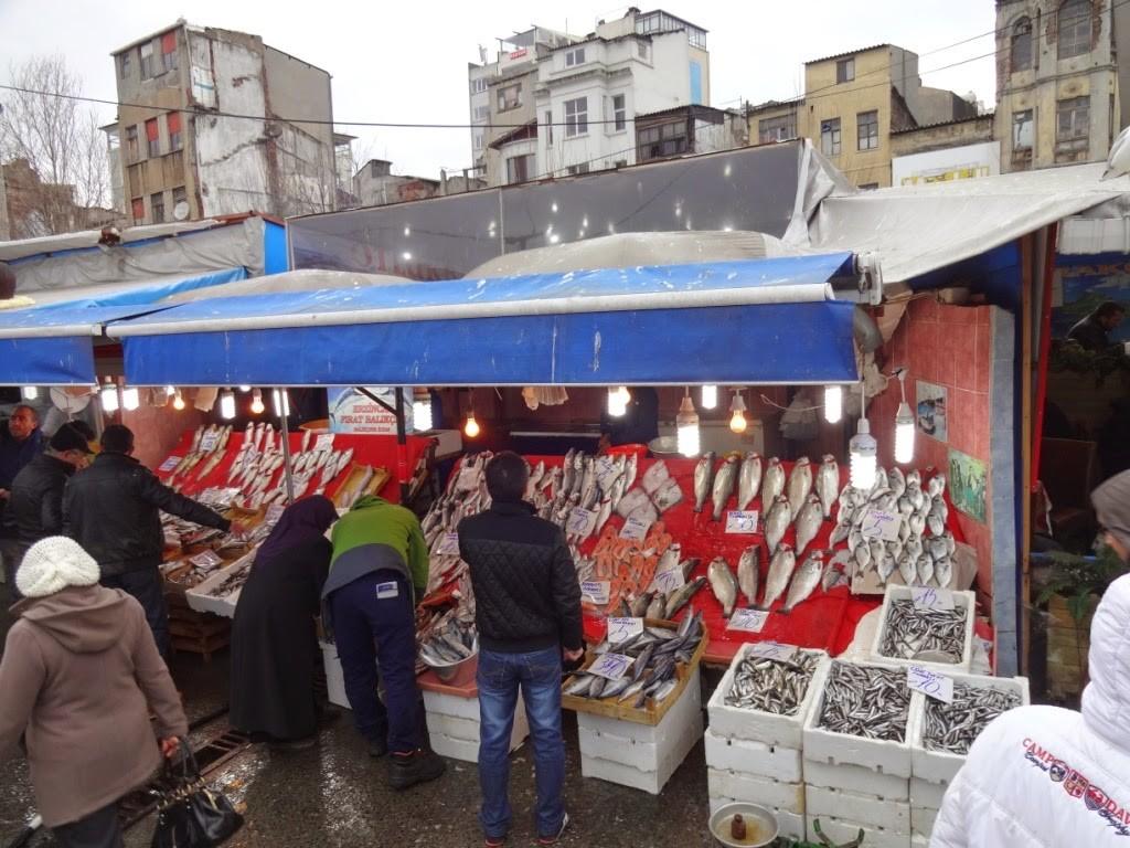 стамбул рыбный рынок
