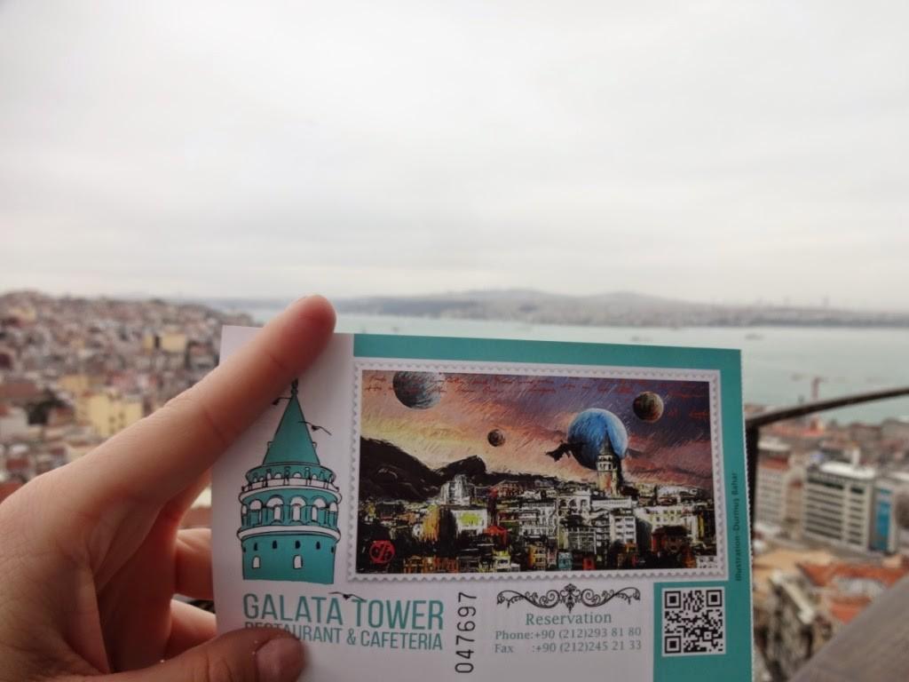 стамбул билет галатская башня