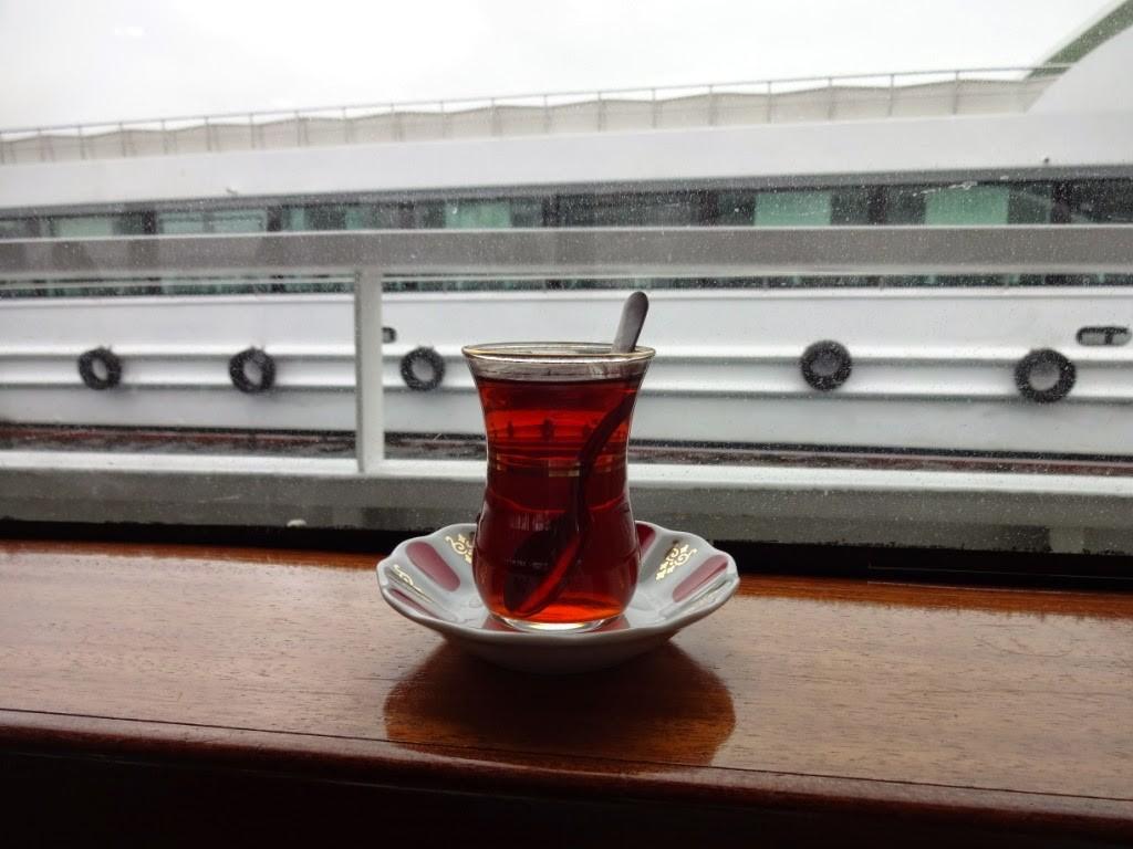 чай на пароме стамбул