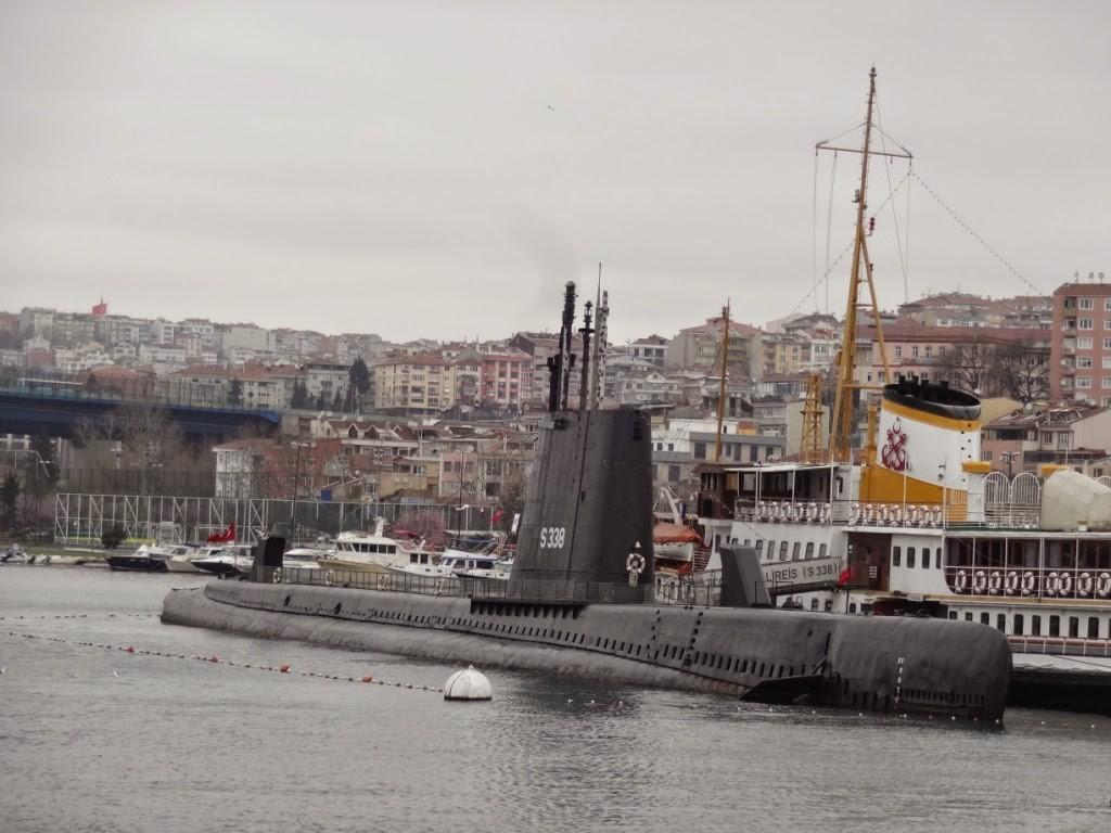 стамбул подводная лодка