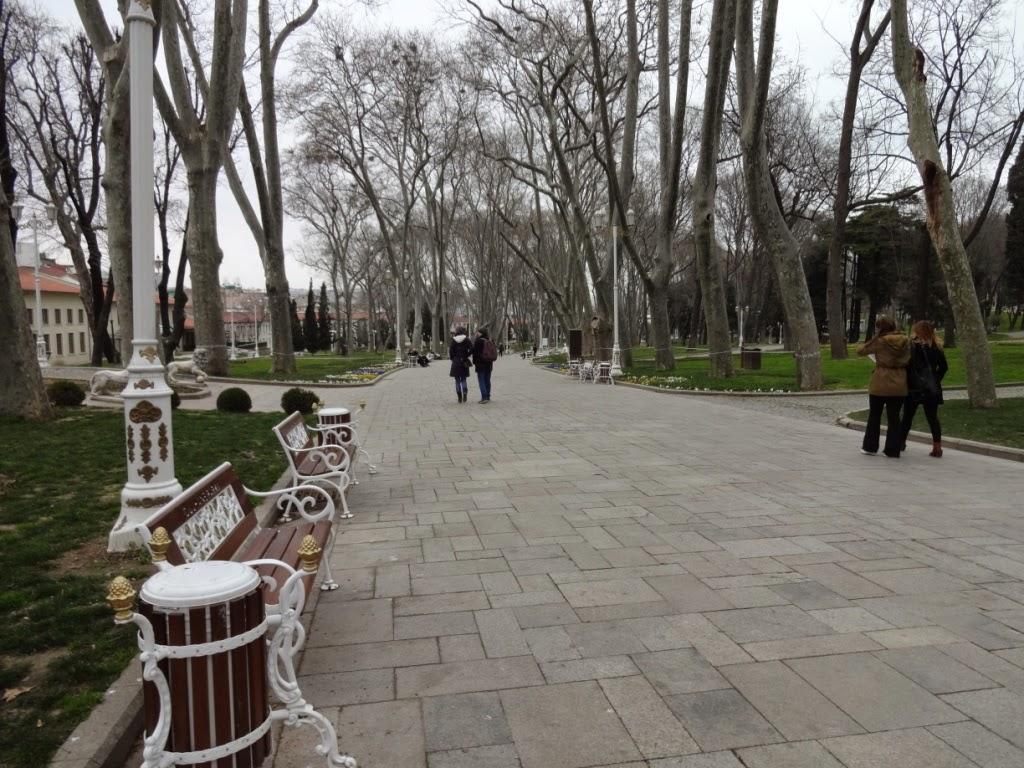 парк Гюльхане стамбул
