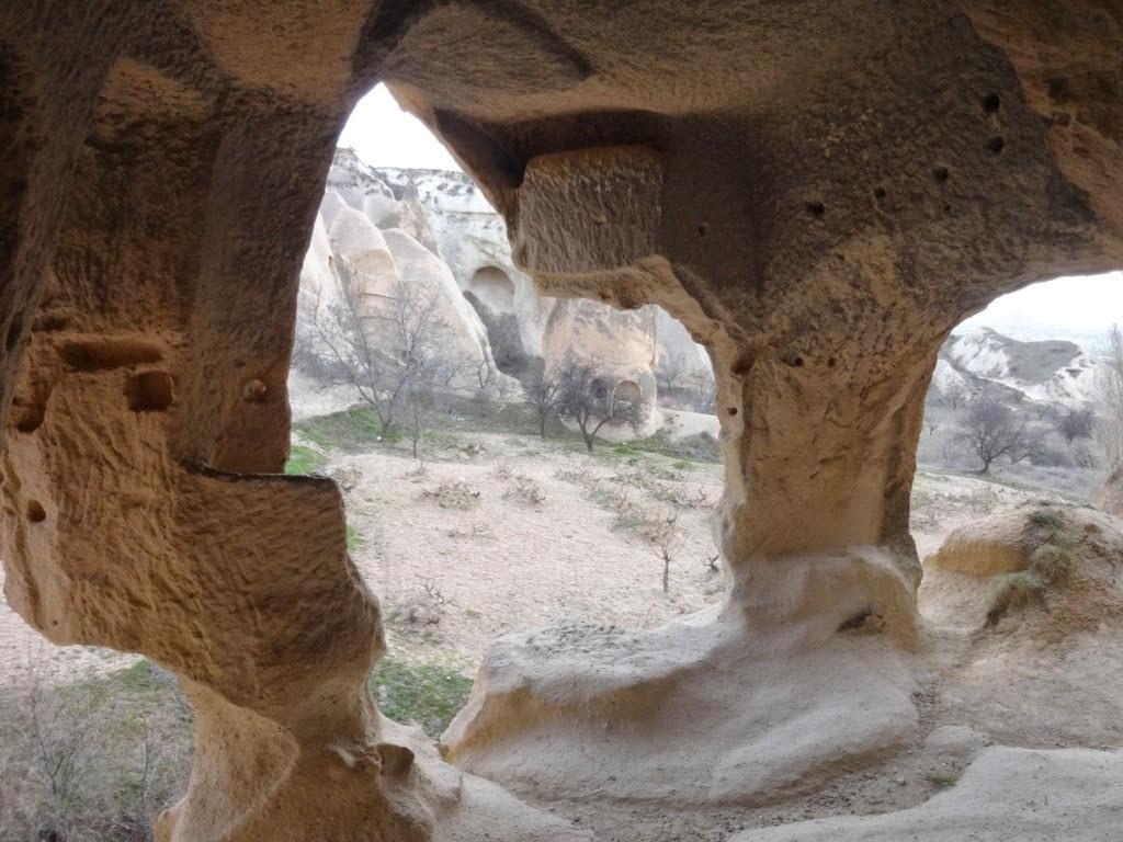 каппадокия розовая долина древний дом