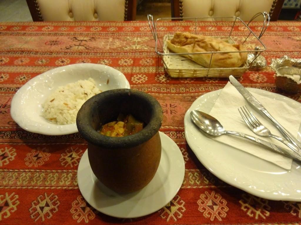 testi kebab гереме каппадокия