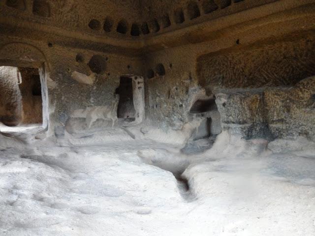 Монастырь в скале Селиме.