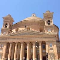 Палаццо Parisio и самый большой купол на Мальте