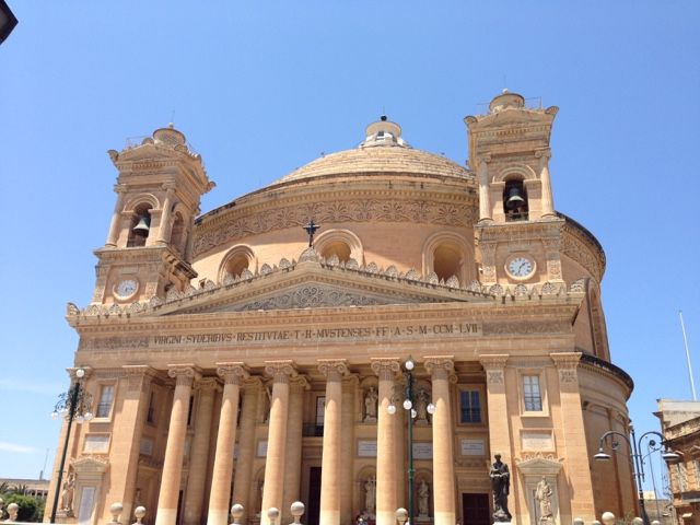 Кафедральный собор, самый большой купол на Мальте