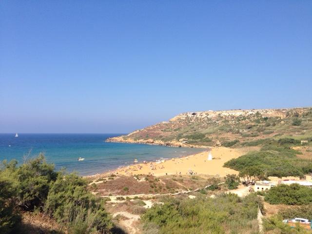 Остров Гозо Красный пляж