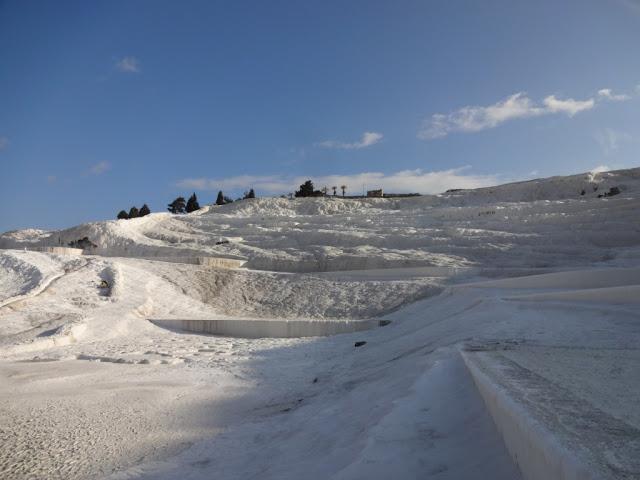 Горы Памуккале