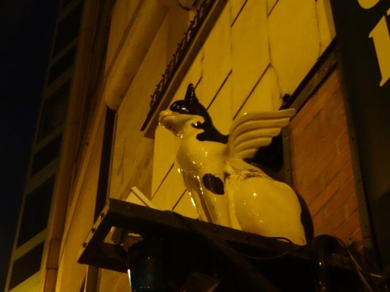 кошка с крыльями Будапешт