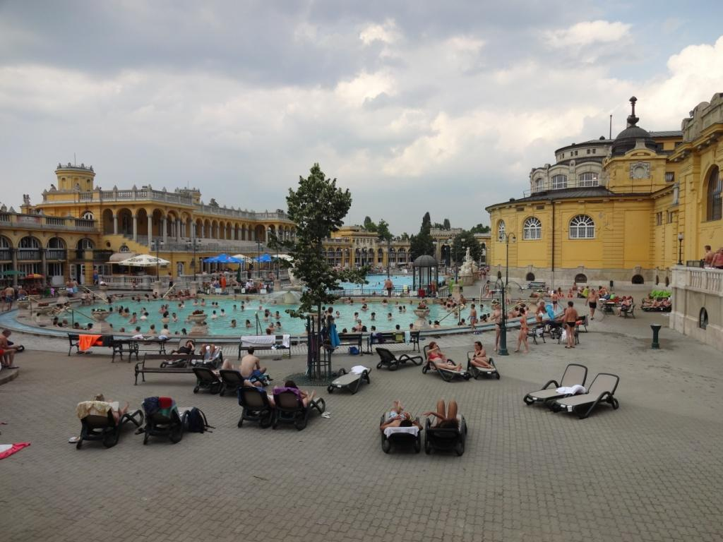 купальни сечени будапешт