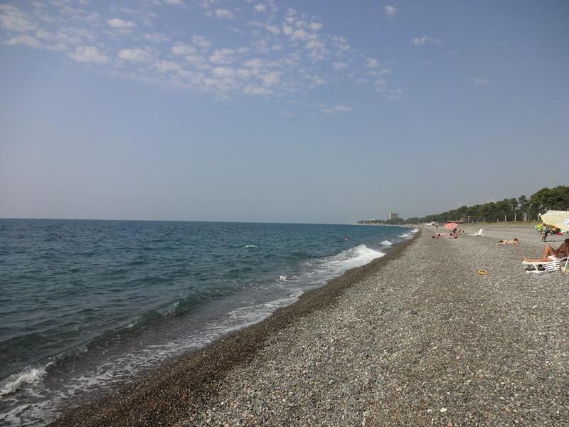 Кобулети пляж Грузия