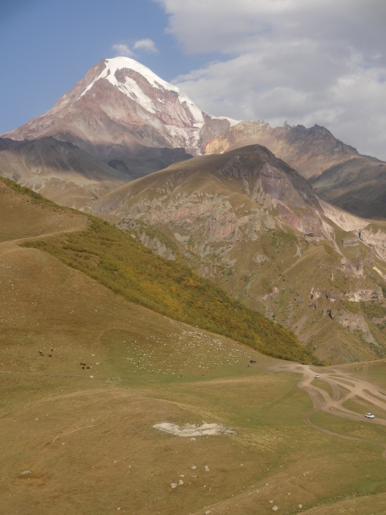 казбек гора грузия