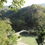 Водопад Махунцети и арочный мост недалеко от Батуми