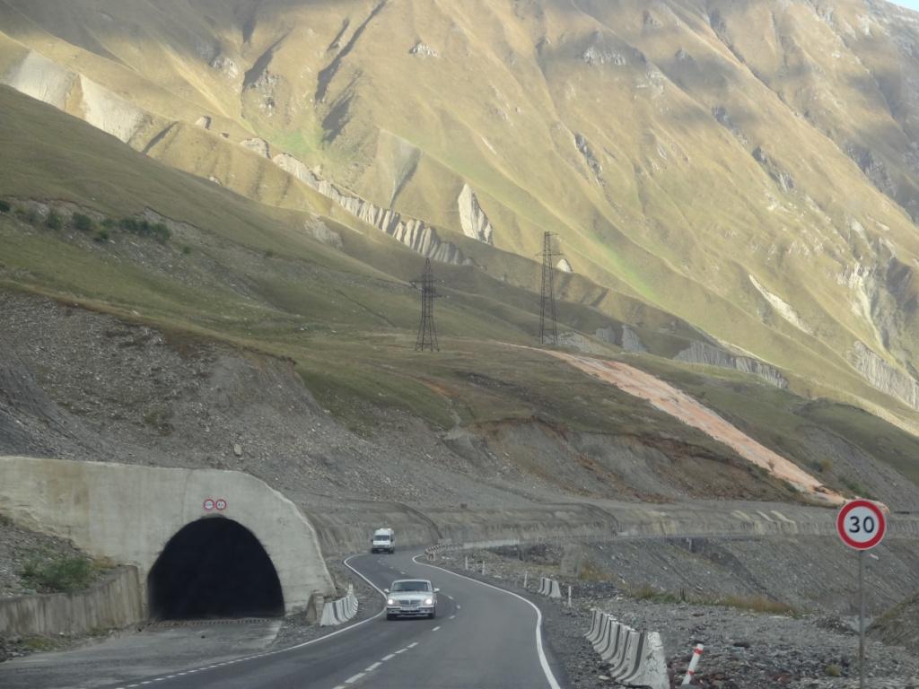 военно грузинская дорога
