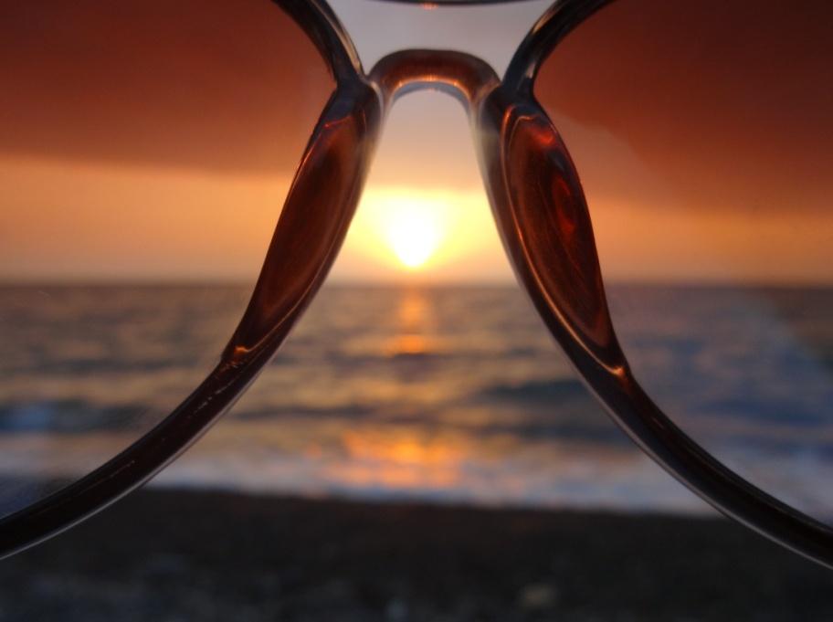 море сквозь очки