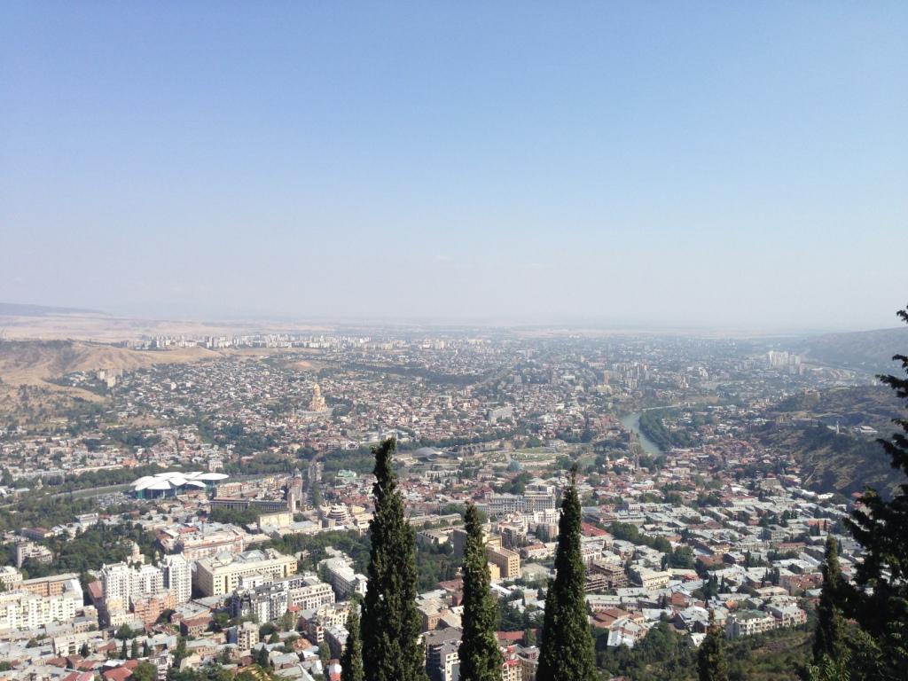Тбилиси со смотровой Мтацминда