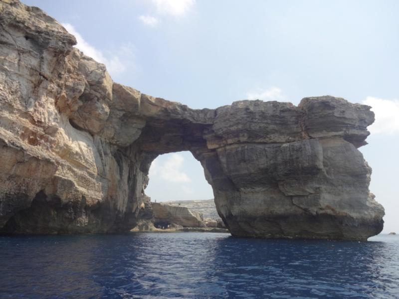 мальта арка в скале