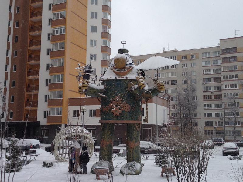 громозека памятник Нижний Новгород