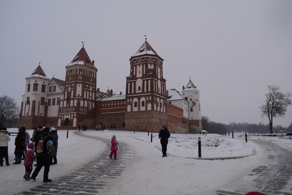 Мирский замок Белоруссия