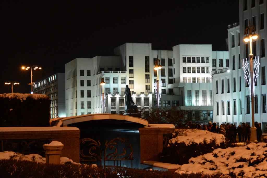 Минск советские постройки