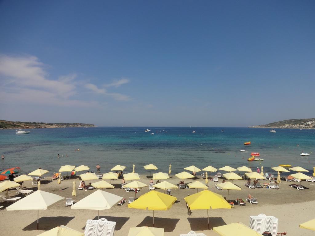 мальта пляж