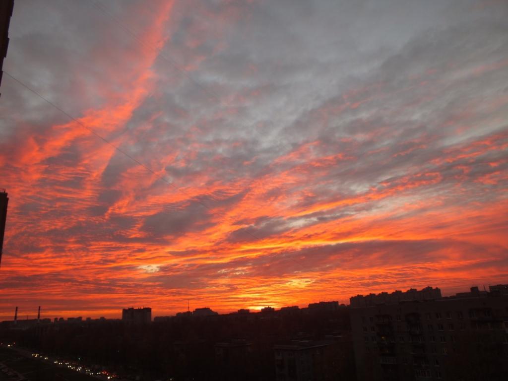 санкт-петербург закат