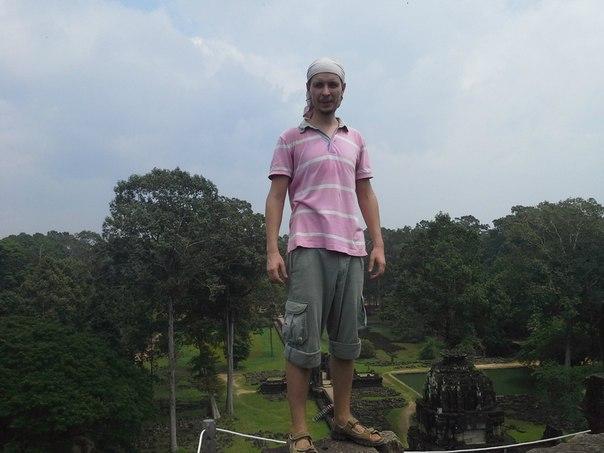 Камбоджа Илья Христофоров