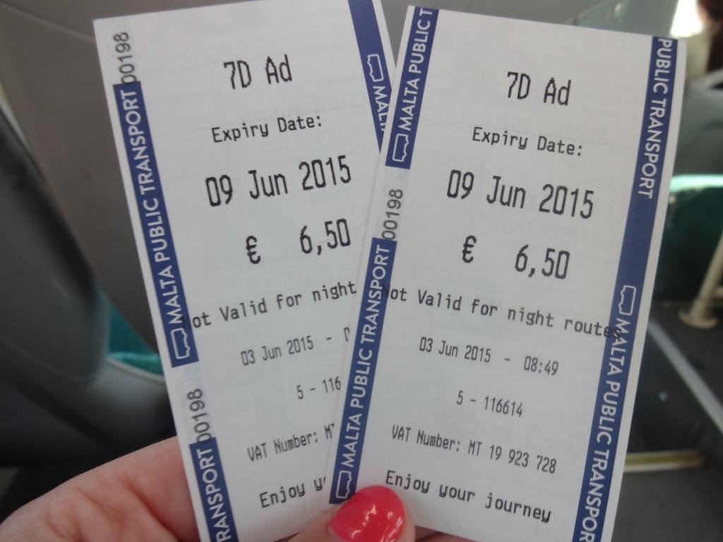автобусные билеты мальта