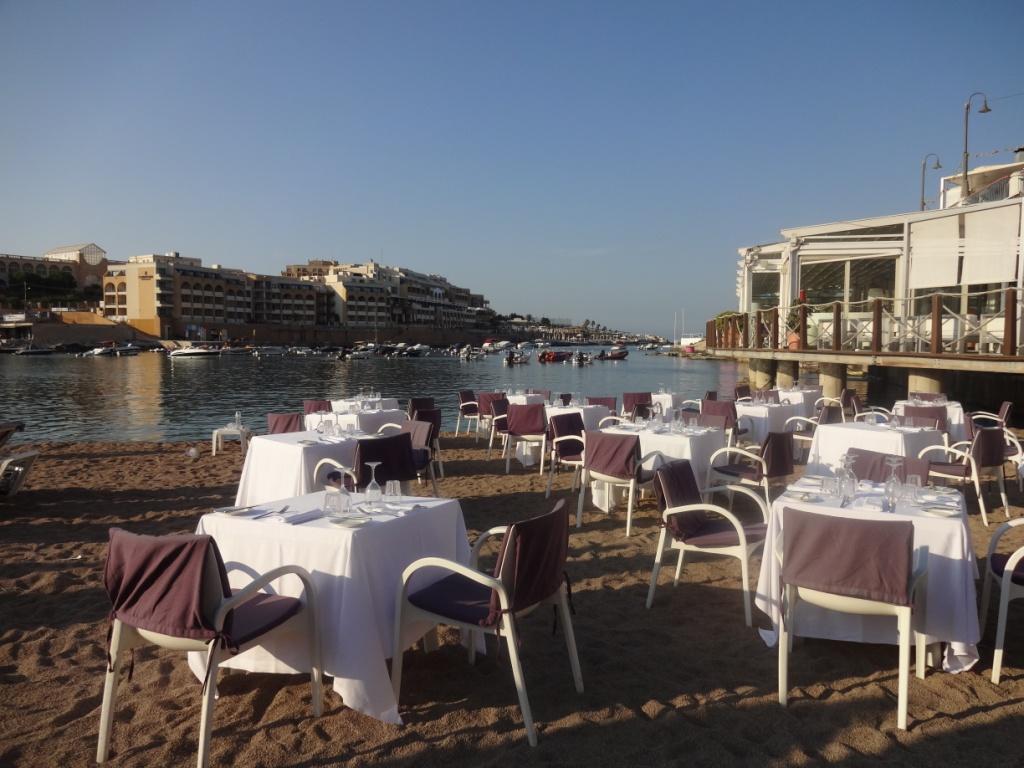 мальта ресторан на песке