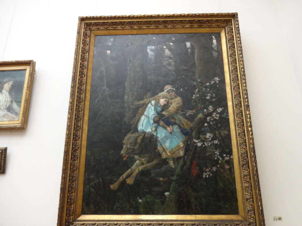 Васнецов - Иван-Царевич на Сером Волке