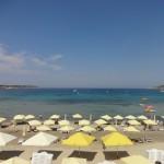 Пляжи Мальты на карте + немного фото