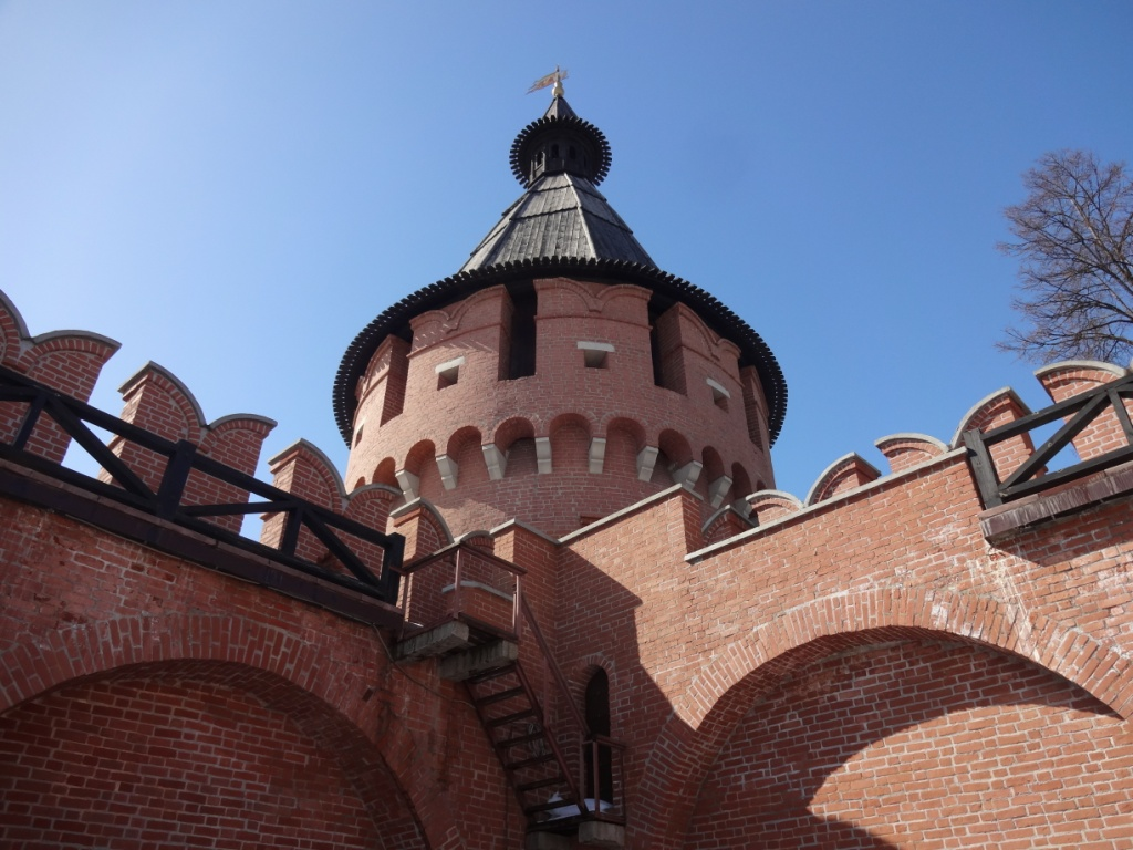 спасская башня тула кремль