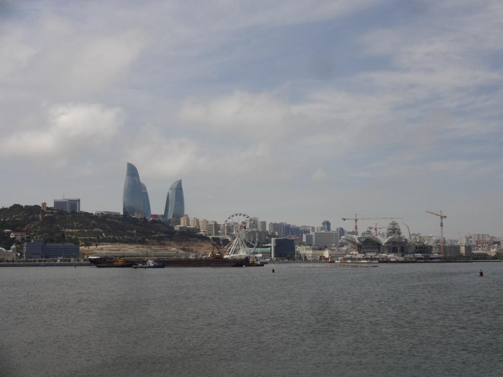бухта баку Каспий