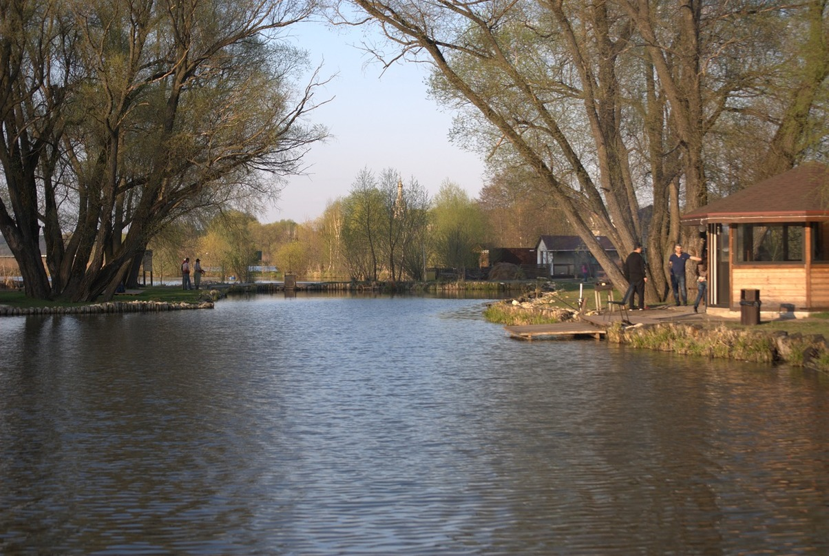 форелевое озеро усадьба озеро