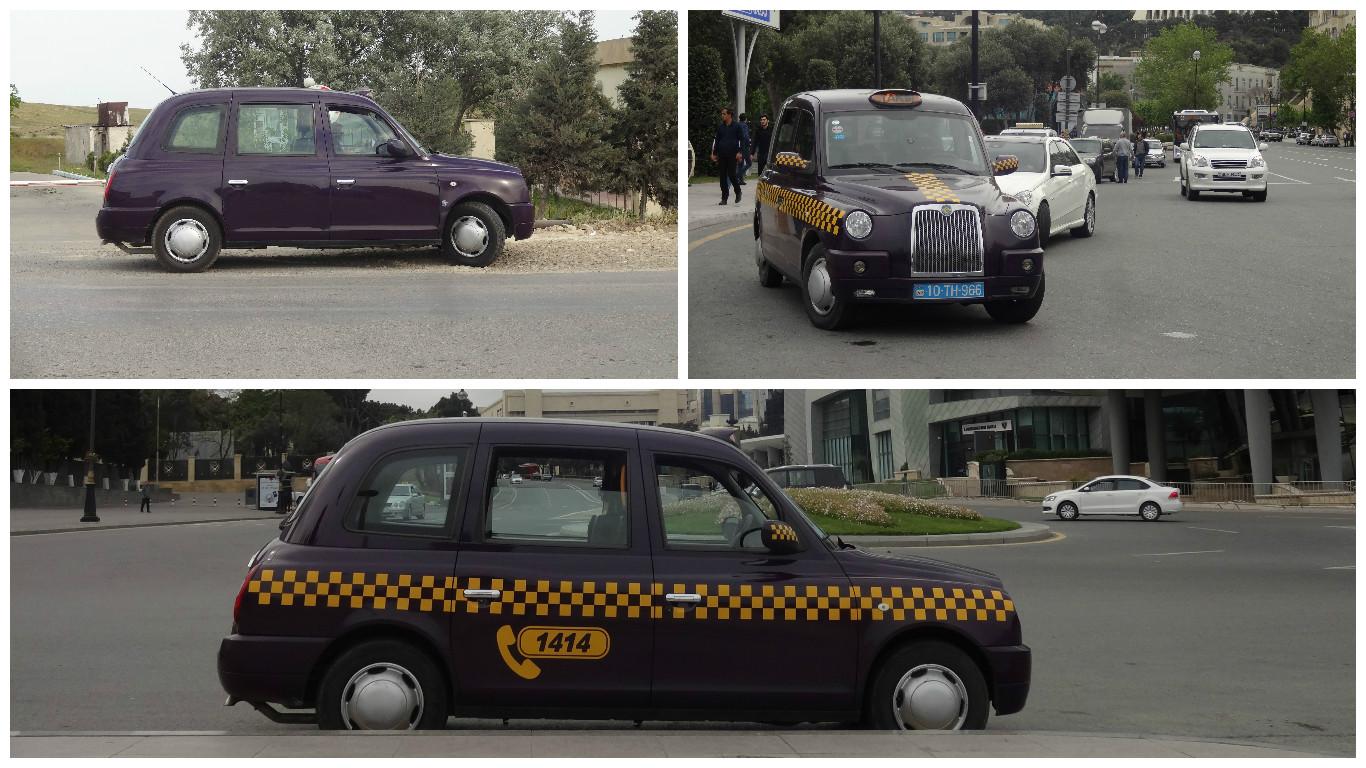 такси баклажаны в баку