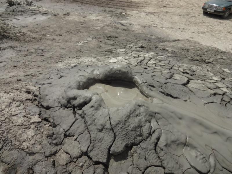 грязевый вулкан гобустан