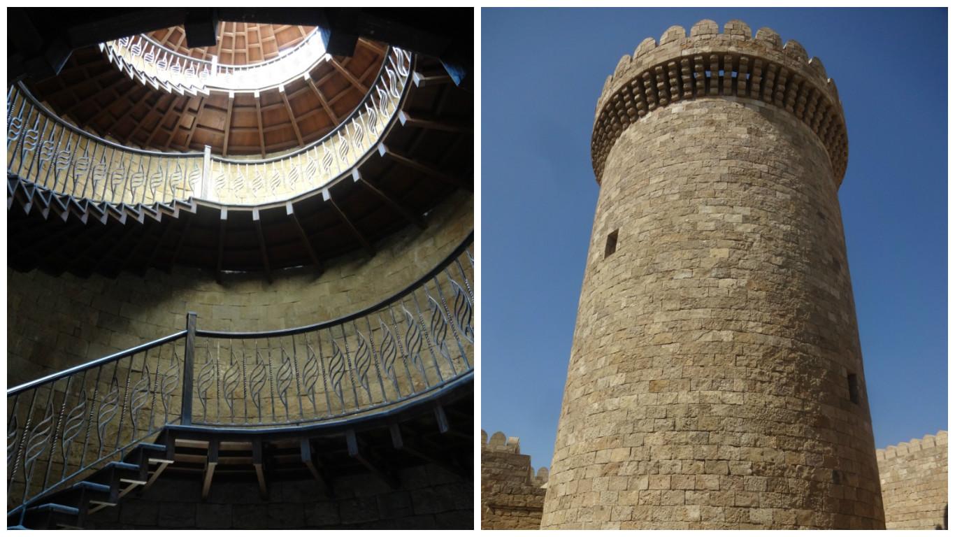 гала азербайджан круглая башня