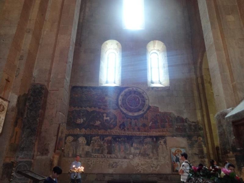 фреска страшный суд светицховели