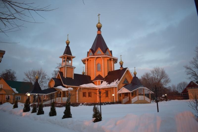 церковь в сартаково