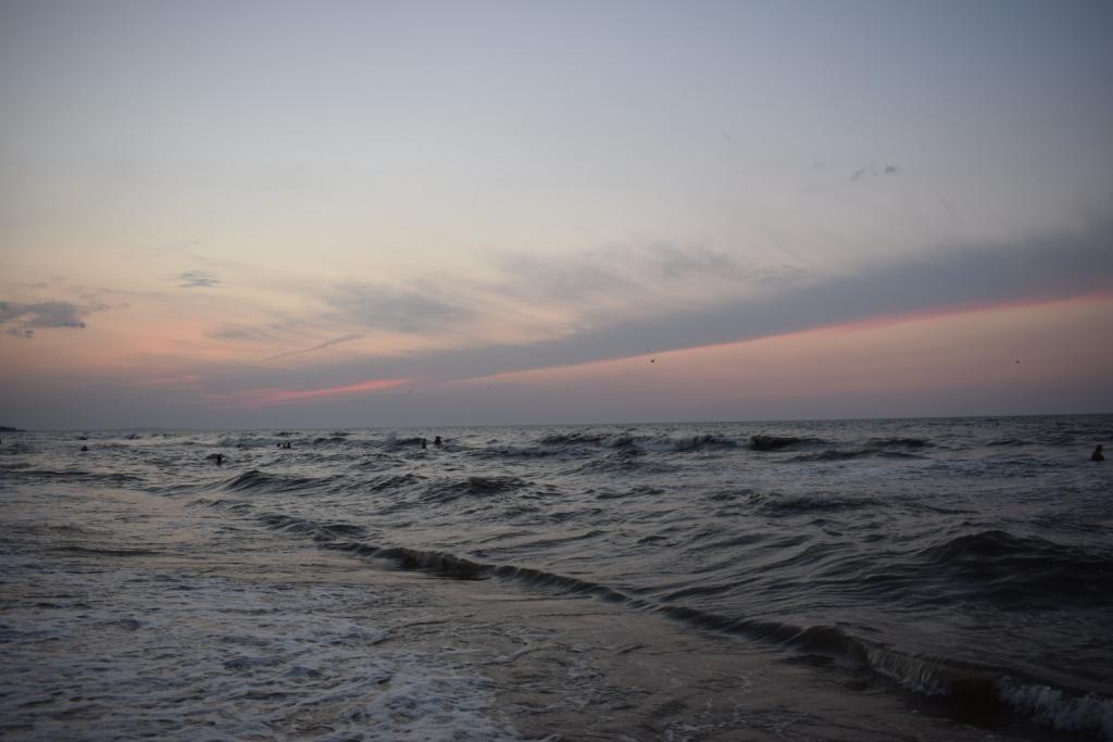 море в станице голубицкая